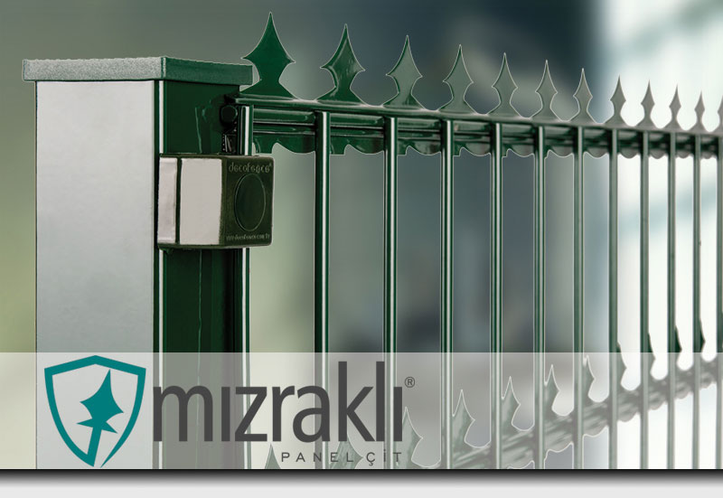 deoratif panel mızrak modeli