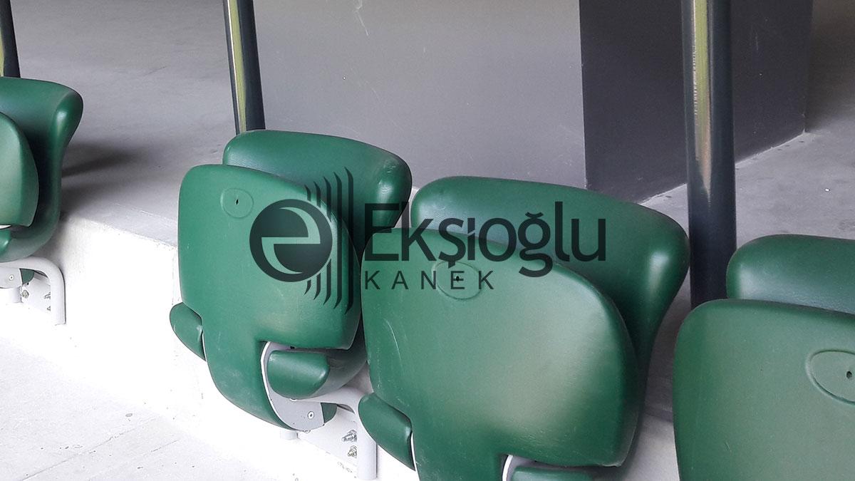 kocaeli stadyumu yeşil seyirci koltuğu